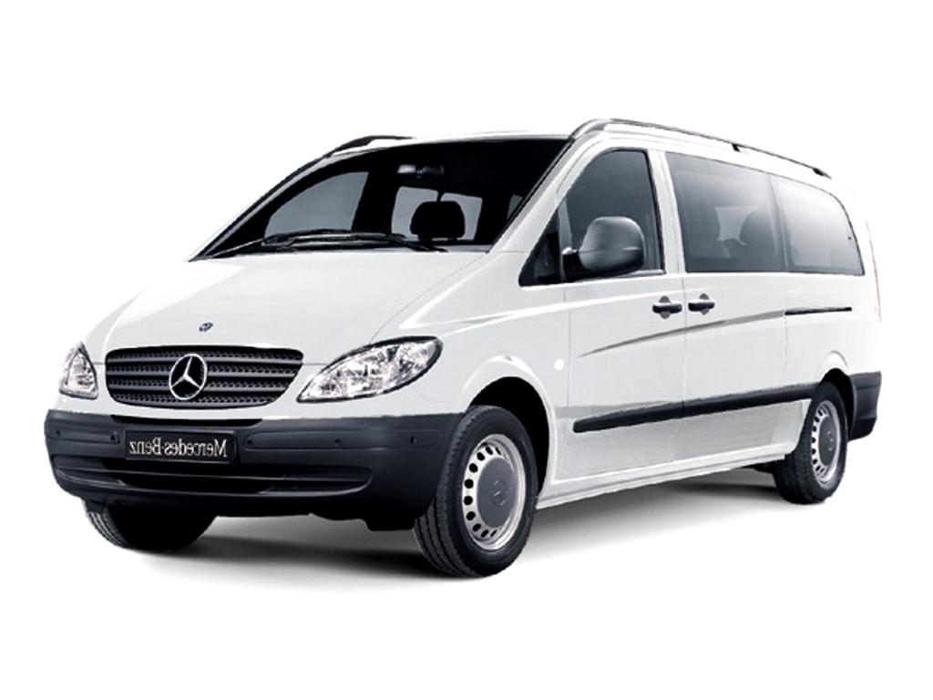 mercedes vito mini bus, van, family, big group car, car rental, car hire crete, chania airport, heraklion airport