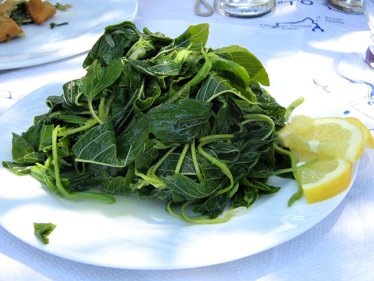 greens, cretan food, gastronomy, cuisine, health