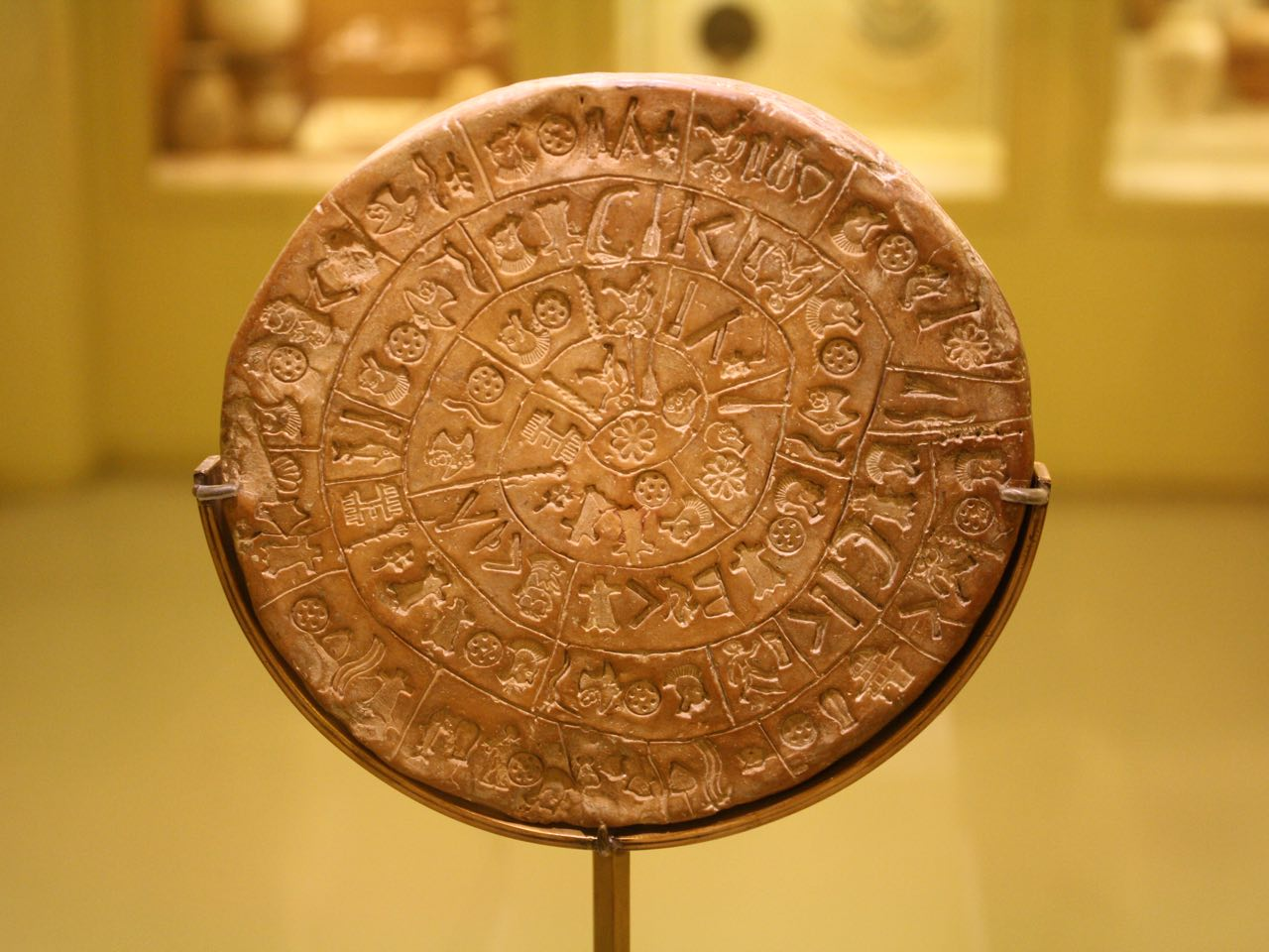 phaistos disc, faistos disc, minoan civilisation