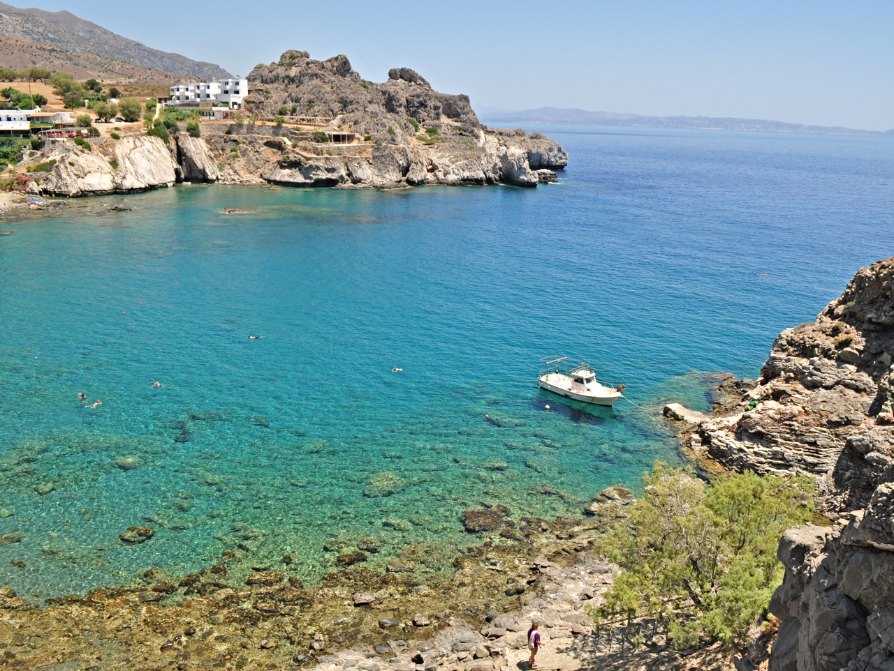 agios pavlos south rethimno, south crete, beach, village, drive, car rental, car hire
