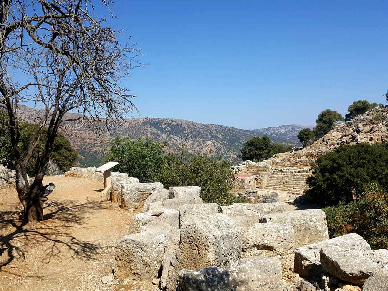 lato ancient city, kritsa village, agios nikolaos, crete, ancient minoan sites, crete car rental, crete hire